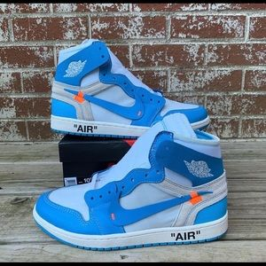 Off White Air Jordan 1 UNC Blue
